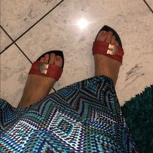 Salvatore Ferragamo sandal heel